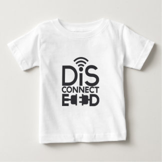 disconnected.png baby t-shirt