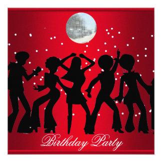 Discosiebziger jahre Geburtstags-Party