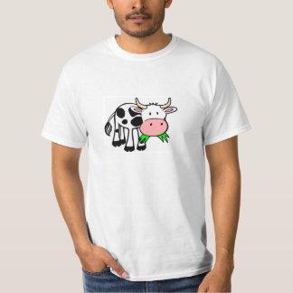 "Discount T-shirt weiß ""Lustige Kuh"""
