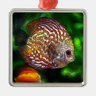 Discus_20170601_by_JAMColors Silbernes Ornament