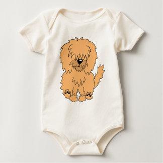 Diskette der Geheimnis-Hund Baby Strampler