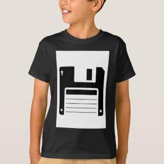 Diskette-Retro Illustrations-Entwurf T-Shirt