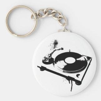 Diskjockey DJ-Turntable Keychain | Schlüsselanhänger