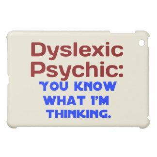 Dislektisches psychisches iPad mini hülle