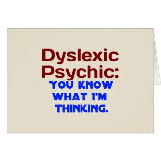 Dislektisches psychisches karte