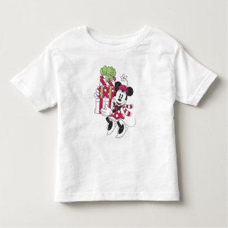 Disney | Vintager Minnie, der Feiertags-Beifall Kleinkind T-shirt