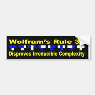"""Disproof """"der nicht reduzierbaren Komplexität """" Autoaufkleber"""