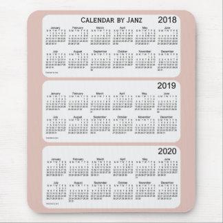 Distel-Kalender 2018-2020 durch Janz Mousepad
