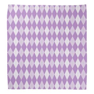 Distel-lila Rauten-blasses Veilchen-kleiner Kopftuch