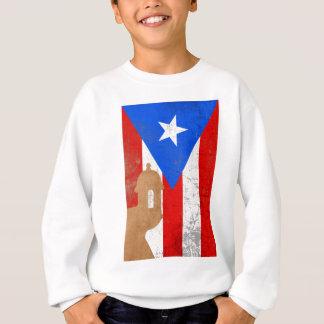 distessed EL Moro Puerto Rico .png Sweatshirt