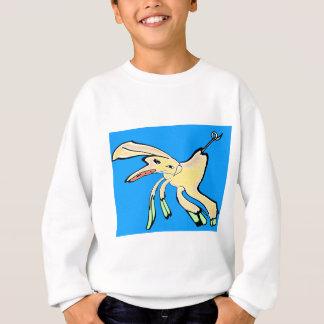 Distored Schwein-Graffiti Sweatshirt