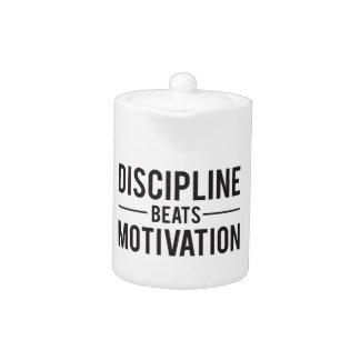 Disziplin schlägt die inspirierend Motivation -