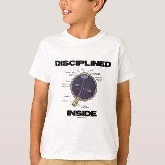 Diszipliniertes Innere des Augen-(i) T-Shirt