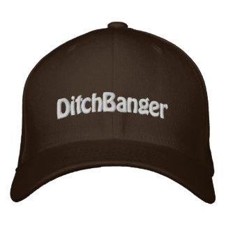 """""""DitchBanger"""" FlexFit Brown Sledders.com Hut"""