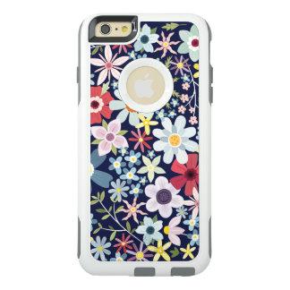 Ditsy helle Wiesen-Blumen OtterBox iPhone 6/6s Plus Hülle