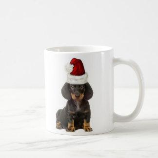 Ditzy Dogs~Original Mug~Dachshund~Christmas Kaffeetasse