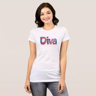 Diva-Damen-T - Shirt
