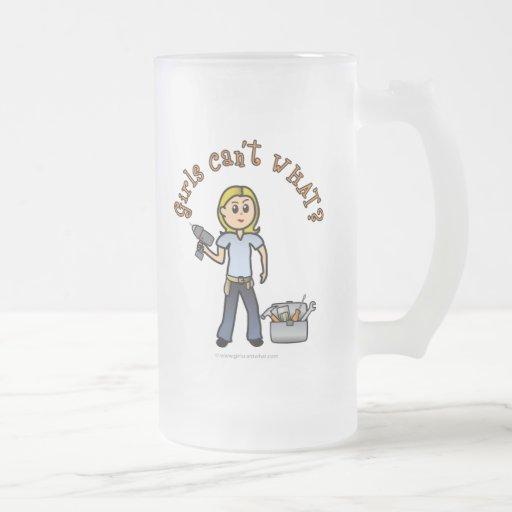 Diva der Blondinen-Tun-Es-Sich Kaffeetasse