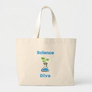 Diva der Wissenschafts-(Biologie) Jumbo Stoffbeutel