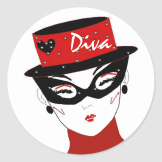 """Diva I"" Aufkleber"