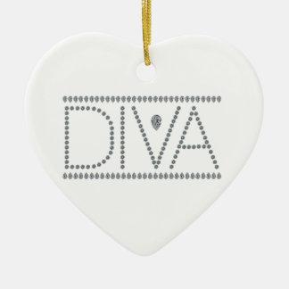 Diva Keramik Herz-Ornament