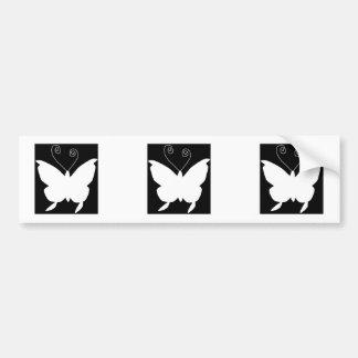 Diva-Schmetterling Autoaufkleber