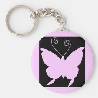 Diva-Schmetterling Schlüsselanhänger