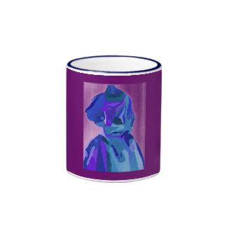 DivaFashionista in Blau I Ringer Tasse