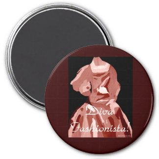 DivaFashionista in Leerlaufstellung Magnete