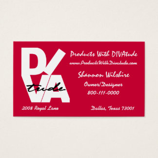 """DIVAtude "" Visitenkarte"