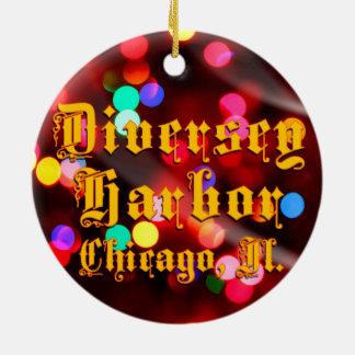 Diversey Hafen-Chicago-Keramik-Verzierung Keramik Ornament