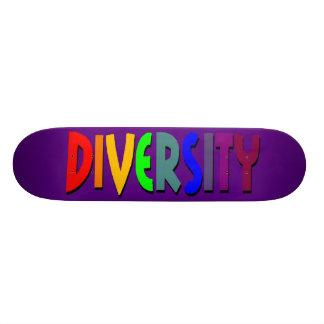 Diversity(lila) Skateboard Personalisierte Decks