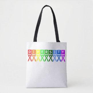 Diversity vereinigtes buntes Symbol Tasche