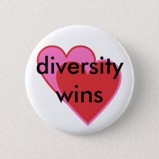Diversitygewinne Runder Button 5,7 Cm