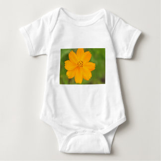 Diversos Flor amarela Baby Strampler