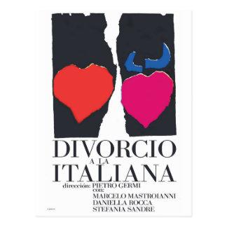 Divorcio ein La Italiana Postkarte