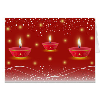 Diwali Grüße Karte