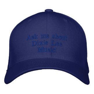 Dixie Lee-Musik ballcap Bestickte Baseballkappe