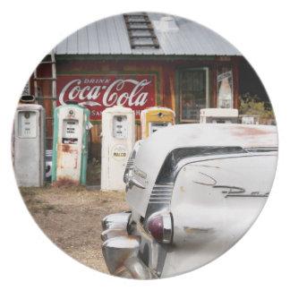 Dixon, New Mexiko, Vereinigte Staaten. Vintages Au Flacher Teller