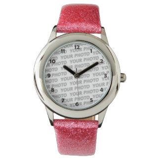 DIY - Addieren Sie Ihr eigenes Foto oder Zeichen Armbanduhr