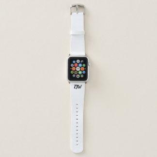 DIY - Apple-Uhrenarmband - ADDIEREN Sie INITIALEN Apple Watch Armband