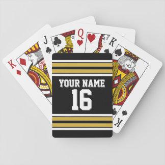 DIY BG kundenspezifischer Zahl-Name Spielkarten