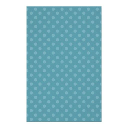 DIY Blau und Aqua-Tupfen-Hintergrund-Geschenkartik Bedrucktes Papier