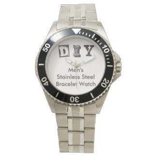DIY - Der Edelstahl-Armband-Uhr der Männer Armbanduhr