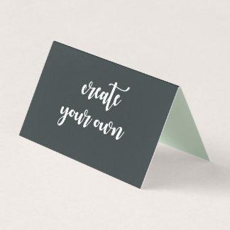 DIY Designer-spezielle Schablone schaffen Ihre Visitenkarten