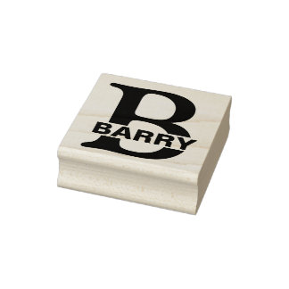 DIY - Einfach Monogramm/Name Gummistempel