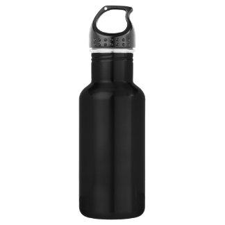 Diy einfache SCHABLONE Beschaffenheit ADDIEREN Edelstahlflasche