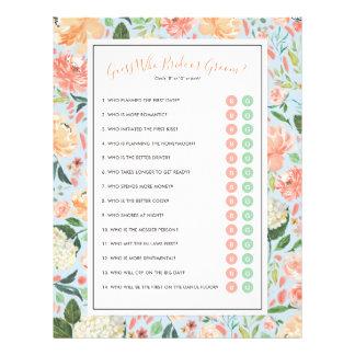 DIY fertigen Ihr Brautparty-Spiel mit Foto Flyer