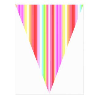 DIY Flaggen-Flagge Stripes Postkarte