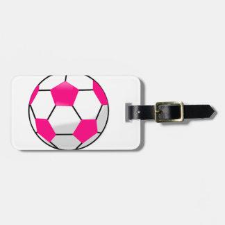 DIY Fußball - Fußball-Frauen-Liga-Rosa-Ball Kofferanhänger